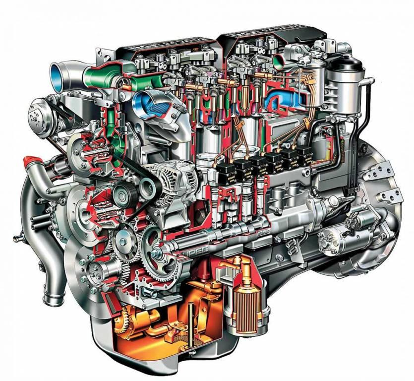запчасти к дизельному двигателю