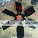 13021190 / 13035713 / 1202181 - 1608 вентилятор (крыльчатка)