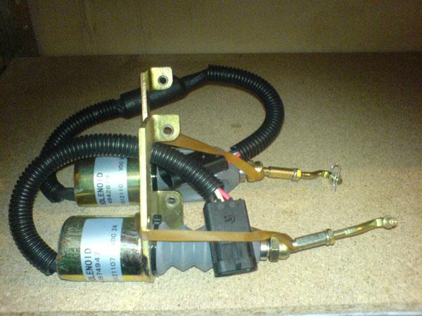 3974947 / 4942879 соленоид (глушилка) на двигатель Cummins 6BT-5.9C