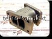 V-образный соединитель-адаптер выпускного коллектора на Deutz TD226B (13023766)