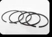 K1-1261-000 комплект поршневых колец STD (хромированная гильза NOM) на SW-680
