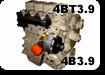 запчасти на двигатель  cummins 4bt-3.9