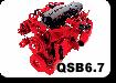 запчасти на двигатель камминз QSB6.7
