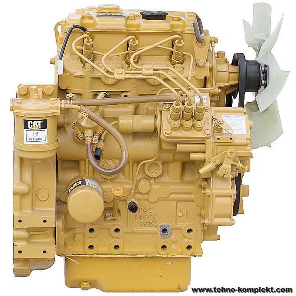 Запчасти на двигатель CATERPILLAR CAT 3013C