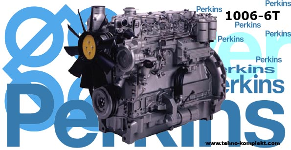 Запчасти на двигатель Perkins 1006-6T