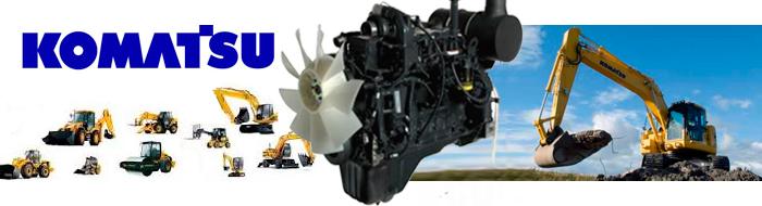 двигатели коматсу